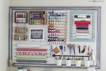 Decor - Craft Room Ideas / Ideas on how to decorate and organize your craft room / by Miss Information