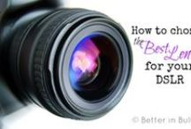 Blog - Photography / Tips and Tricks for better photographs and for blogging / by Miss Information
