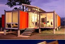 Shipping Container Homes / Homes from recycled shipping containers