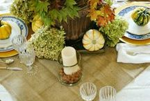 Decor - Tablescapes / Ideas to dress up your table / by Miss Information