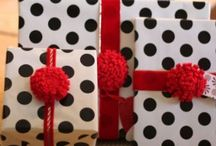It's wrapped / Beautifully wrapped presents / by Lisa Wallace