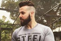 Beards in the wind