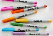 Crafts | Sharpie Crafts / Sharpie Marker Crafts of every kind for holidays, back to school and gifts. / by Miss Information