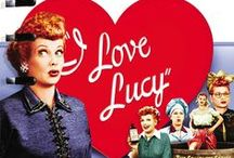 Who is this Lucy? / Growing up in a South Africa we didn't get the classic American cult shows like I Love Lucy.   Only after my last trip to the States when I was walking down Hollywood Blvd with people literally shouting at me calling me Lucy did I decide to find out more about this funny lady of the 50's / by Miss Happ