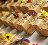 rustic wedding / burlap lace wood