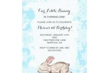 Winter baby shower or birthday party