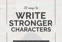 Character Building Tips / #writers come here for great #tips on #characters!