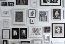 wall displays / by Carolyn Egerszegi