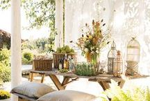 Earthy and Lovely Home Decor / Rustic and earthy, country farmhouse decor. / by Jessica Farber