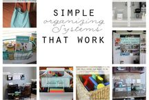 Homemaking / Cleaning and organisational tips to help me  create and keep a lovely home!