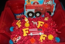 F is for firefighter / by Jacqueline Schilling