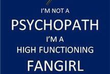 Geeky Girl That I Am / I'm in many fandoms as you can tell. Doctor Who, Sherlock, DC Comics, Marvel comics... Just to name a few