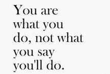 Words of Life / Words inspire actions.