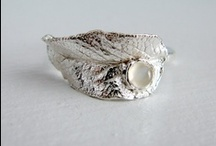 Etsy / Recycled fine silver, nature inspired country wedding jewelry. / by Jessica Farber