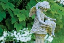 Garden Elements: Urns, Topiaries, and Garden Accents / Even small changes can transform your garden; but magnificent elements can elevate it to a whole new level! / by Didi Dreams...