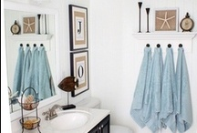 Blue Bathroom / Blue inspired bathrooms. / by Jessica Farber