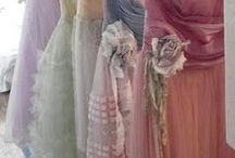 Ruffles & Ribbons & Lace, Oh My! / Vintage and haute couture---ethereal, flowing, shimmering with lightness...She walks in beauty... / by Didi Dreams...