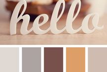 Colour palettes / colour schemes / colour palettes, colour trends, what colours go together, pairing colours,