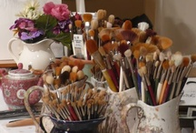 Paint..Brushes..And More.. / by Peggy Shell
