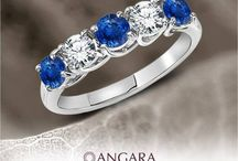 Best Bands for Him & Her / by Angara.com Jewelry