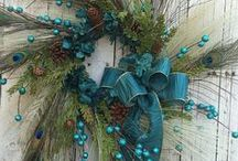 Fall and Christmas decoration