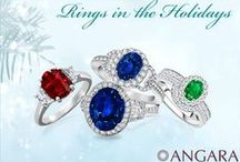 Top Holiday Jewelry / Tis the season to shine! There is nothing more gorgeous than the jewelry gifts for women that would last for generations. Here are the top women jewelry gifts for holidays. / by Angara.com Jewelry