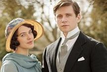 On the Telly / Mostly Downton Abbey but a few other British shows