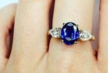 Sapphire Jewelry / The fascinating colors of the Sapphire gemstone have allured the hearts of the people since ages. Explore our Sapphire Jewelry collection and find your dream jewelry! September birthstone jewelry.