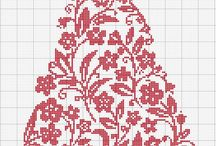 Christmas Cross Stitch Patterns / Cross Stitch designs for creating beautiful designs at Christmas!