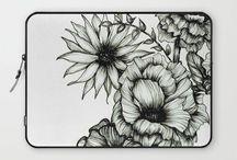 Black & White Design / Graphic and Ink designs