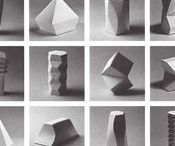 SHAPE, 3D AND SPACE / Shape defines space and space allows shape. Space is passive in relationship to shape.