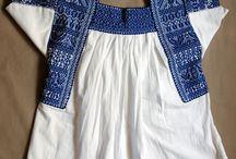 Quiero usar hermosos bordados mexicanos todos los días. / I love Mexican embroidery and textiles.