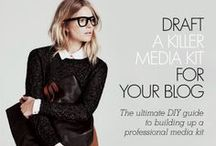 Bloggity Business / by Alida Makes