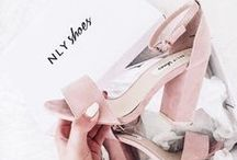 """• shoes / """"You put high heels on and you change."""""""