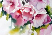 water color instr & oil
