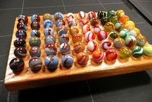MARBLES / Vintage marbles, Akro, Peltier, handmade swirls, clay and porcelin, agates, transitionals, - [ either sold or AVAILALE ]  jkuzich @ kuzich.com