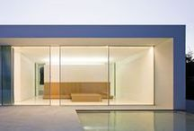 Modern Homes / The focus here is on geometry, cubism, openness, simplicity in residential architecture