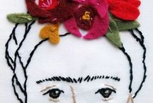 All Things Frida / A board dedicated the brilliant Mexican artist - Frida Kahlo / by Latina Bloggers Connect