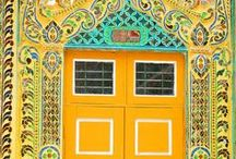 Painted Doors / Artistic Doors