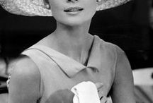 """muse • audrey hepburn / """"I don't want to be alone, I want to be left alone."""""""