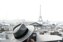 """• paris / """"I guess it goes to show that you just never know where life will take you. You search for answers. You wonder what it all means. You stumble, and you soar. And, if you're lucky, you make it to Paris for a while."""""""