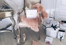 """• closet inspiration / """"I like my money right where I can see it: hanging in my closet."""""""
