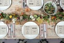 menu designs I love! / by ROAR events | Caryl Lyons