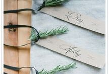pretty papers / lovely invitations, save the dates, agendas