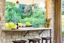 outdoor kitchens / Backyard cooking
