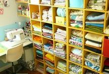 Sewing Organization / by Cluttered Quilter