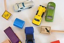 Toy Vehicle Activities / Learn and play with toy cars, trucks, trains!! Vroomm vroomm. Beep beep. Honk honk.