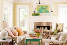 JUL / inpiration for furniture layout, color schemes and built-ins / by Leanne Johnson