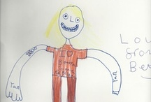 How My Children See Me meme / Bloggers' children draw a likeness of their parent . . . This was a meme I started back in 2009. The pictures are just priceless!