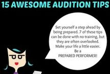 The Prepared Performer / Inspiration for my awesome theatre students... (and reminders for myself)